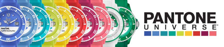 A Dose of Delight! Colour with Confidence Ice Watch Pantone Universe collection >>http://ow.ly/mc5K4 --At My Jewellery Shop!