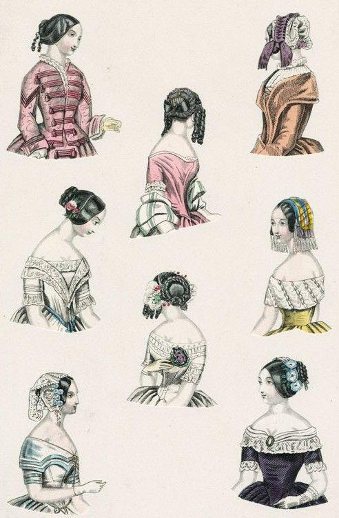 World of Fashion, February 1845