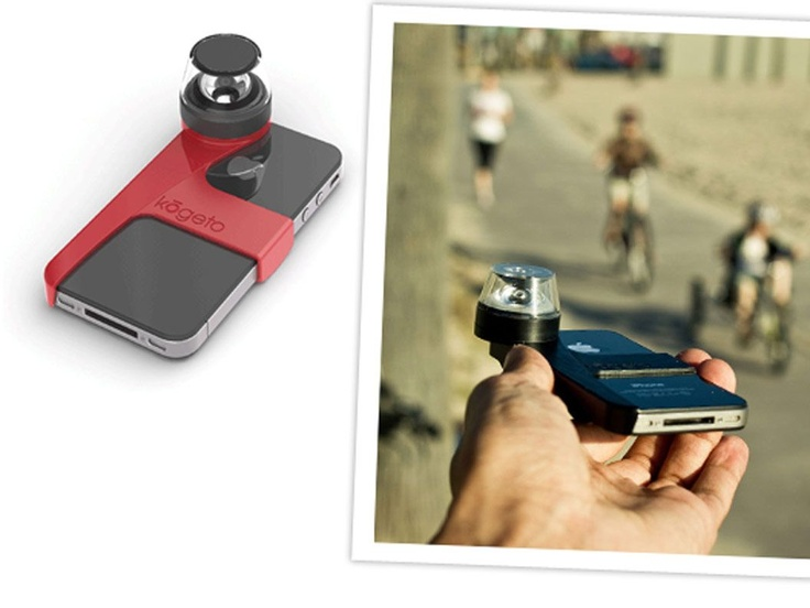 FREE SHIPPING: Dot 360° video for iPhone 4/4S by Kogeto  This looks like fun