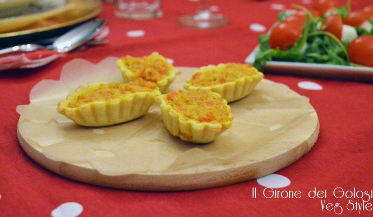 I cestini di Brise Carote e Curry sono un antipasto sfizioso che stupirà i vostri ospiti e che può essere trasformato inuna deliziosatorta salata