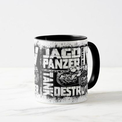 Jagdpanzer IV Combo Mug - home gifts ideas decor special unique custom individual customized individualized