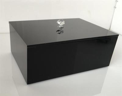 Cheap Gioielli Acrilico nero logo Make up Desktop Organizer Con Coperchio Cosmetici Rossetto di Trucco Cassetto Storage Box Holder, Compro Qualità Scatole e scatole direttamente da fornitori della Cina:  se volete più foto reale, potete contattarci