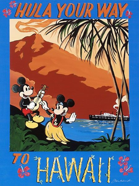 Mickey Mouse - Hula Your Way to Hawaii
