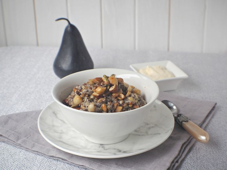 A warm comforting porridge that is oat and grain free, perfect for those cold winter mornings.