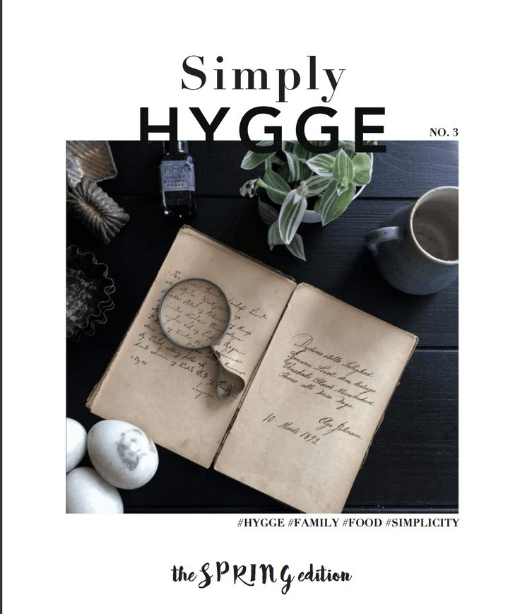 Simply Hygge magazine – Spring edition