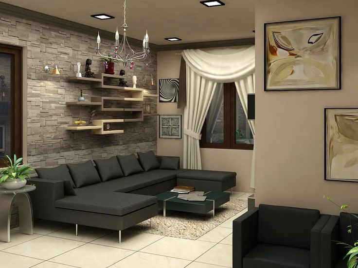Interior Design Living Room Furniture Arrangement Modern Living Room Furniture Layout Ideas For Small Living Space Design.  Click this link to view more details - http://Interiors.ApnaGhar.co.in/ Questions? Call Toll-Free No.- 1800-102-9440 Email: support@apnaghar.co.in