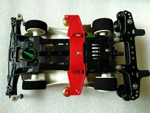 Carbon Reinforced Double Roller Stay + FRP