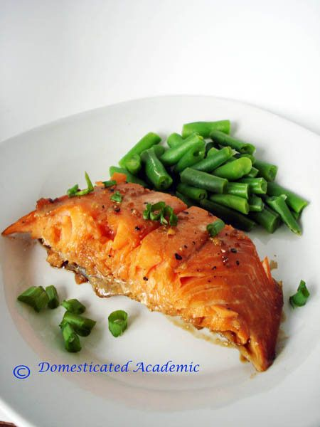 Maple Soy Salmon   Domesticated Academic