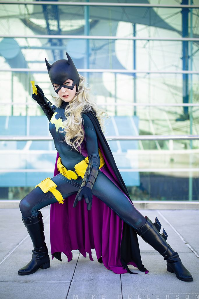 San Diego Comic Con 2016 MaidofMight Cosplay as Batgirl                                                                                                                                                      More