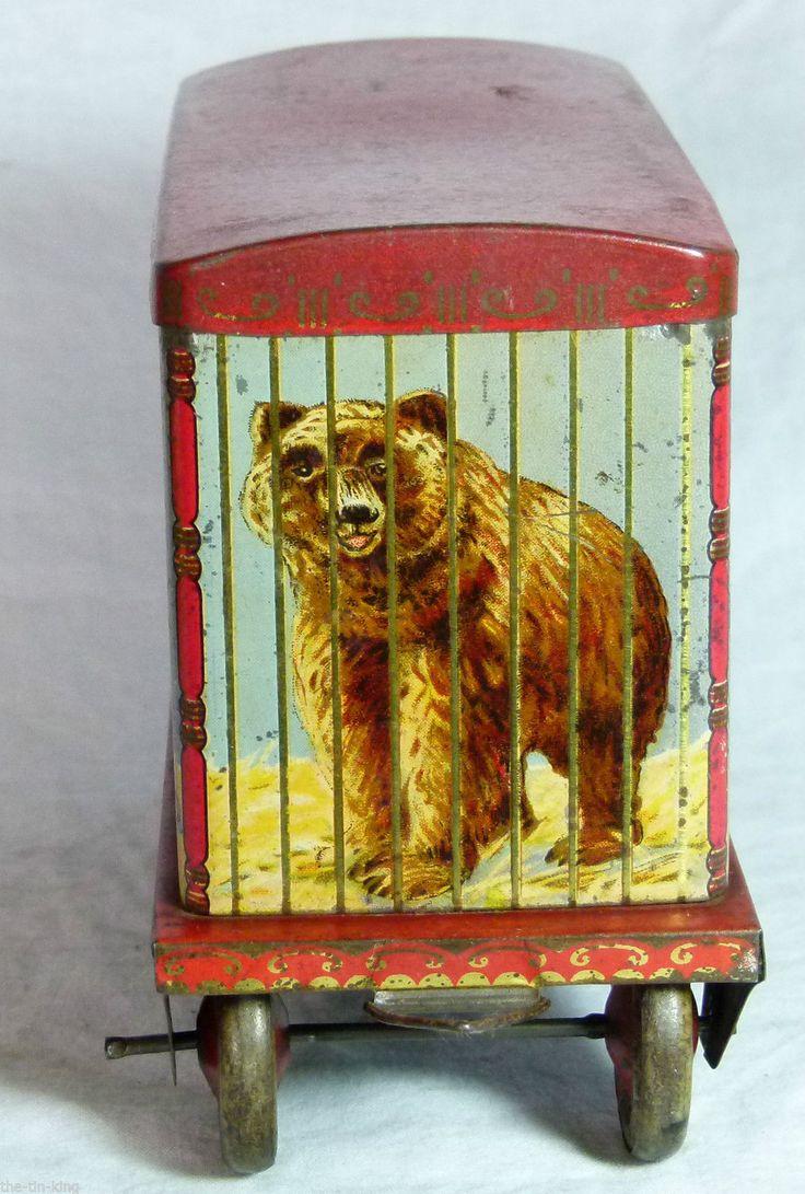 "Crawfords biscuits tin ""Menagerie Van"" c1930"