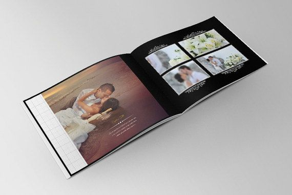 Wedding Photo Album Template by BillyDESIGN on Etsy