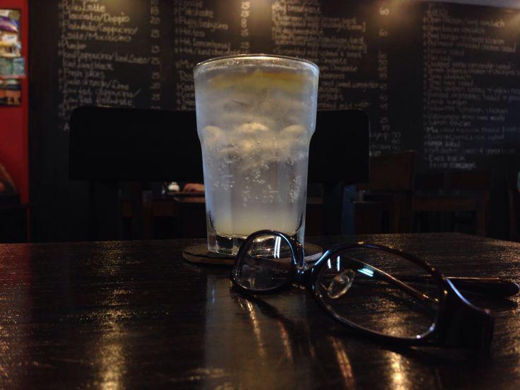 Glasses Journey with Lemon Squash