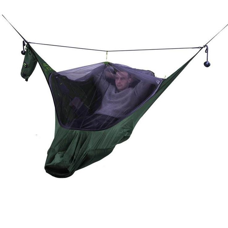 Medium image of draumr 3 0 hammock shelter in green