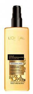 Huile Démaquillante Éclat Sublime - Huile Extraordinaire de L'Oréal : Fiche complète, boutiques en ligne et 9 avis consommateurs pour bien choisir vos produits Démaquillants