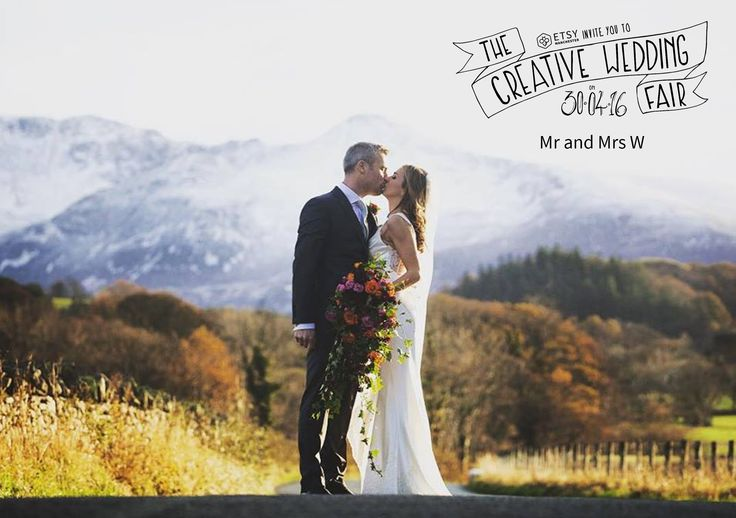 Mr and Mrs W - The Creative Wedding Fair by Etsy Manchester - Wedding Planners - Husband & Wife Team - Wedding Photography