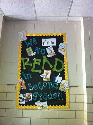 LOVE this!  May have to be my back to school bulletin board! :)