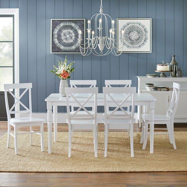25++ Simple living albury cross back dining set Inspiration