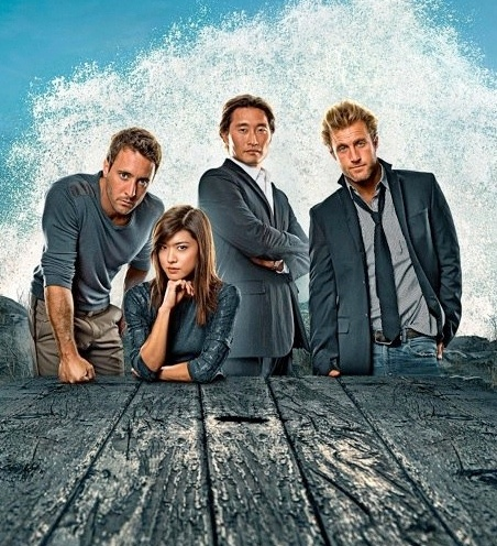 Hawaii Five-O - I'd just like to make it completely clear that I only watch this for the quality of the storylines, no other reason. Honest.