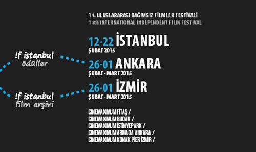 !f İstanbul Uluslararası Bağımsız Filmler Festivali'ne başvurular için son günler...