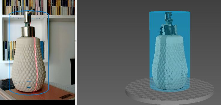 Now at @0lab_it laboratory #3D #Scan with a 3d printed #opensource #kit. Stay Tuned! Many news for #September.