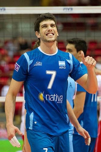 Facundo Conte of Argentina Volleyball Team Fot. Mariusz Pałczyński / http://www.facebook.com/MariuszPalczynskiPhotography