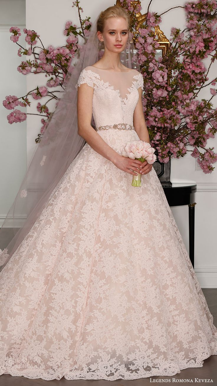 75 best images about blush soft pink wedding on pinterest for Soft pink wedding dress