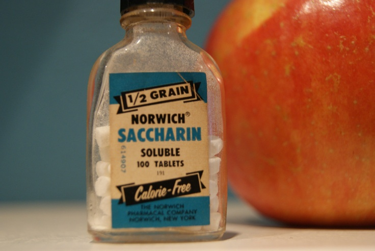 Vintage 1950'sMiniature Bottle of Saccharine Sweetener ...