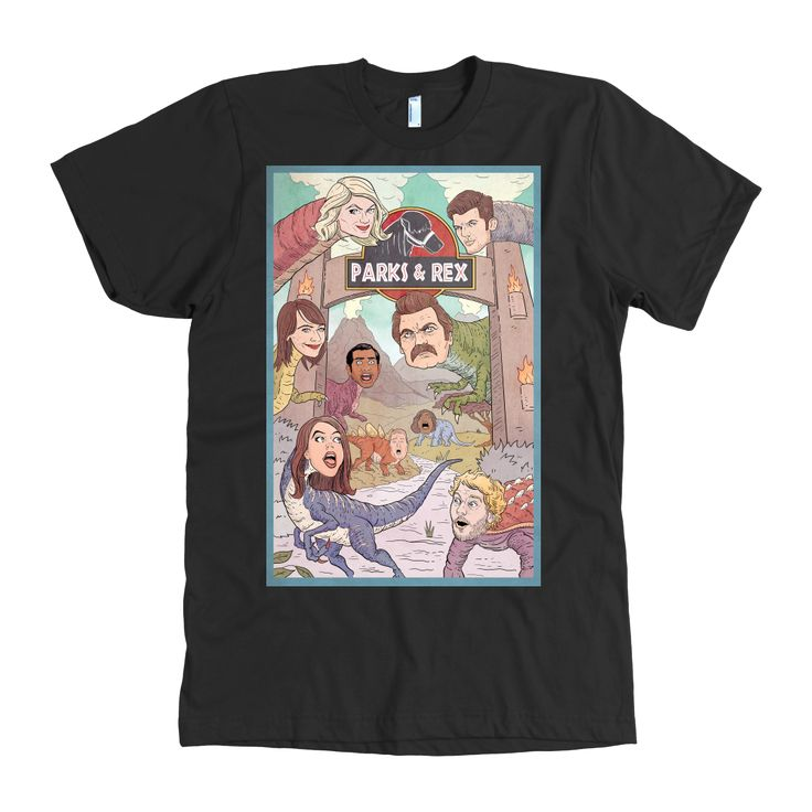 Parks and Recreation (Parks and Rex) Shirt
