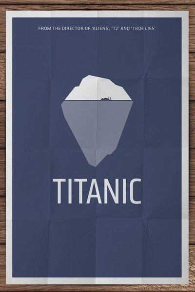 Titanic - Minimalistic Movie Posters