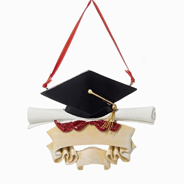 Resin Graduate Ornament