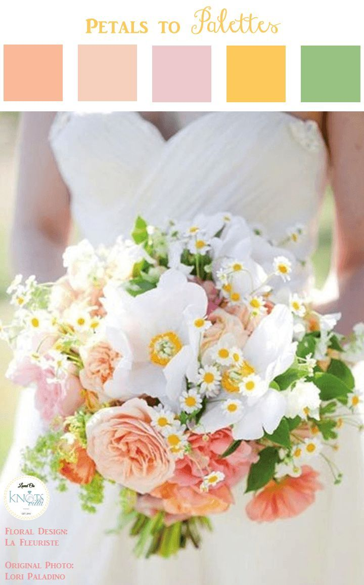 spring yellow wedding bouquet