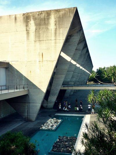 museum of Modern Art, Rio de Janeiro, Brazil by Affonso Eduardo Reidy (1964)