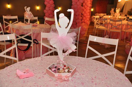 Decora las mesas y la sala de la fiesta con de la comunión de tu hijo. Detalles originales y personalizados Primera Comunión. Princesa bailarina fiesta                                                                                                                                                      Más