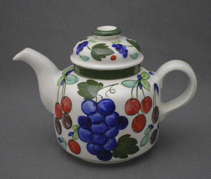 Arabia, teekannu, Palermo, Dorrit von Fieandt