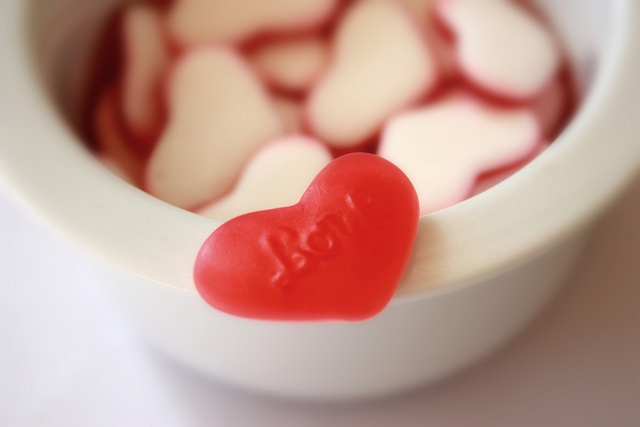 Bowl of sweet love.....