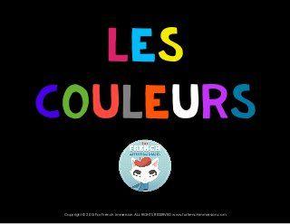 French Colors Introduction - les couleurs en français! Slideshare