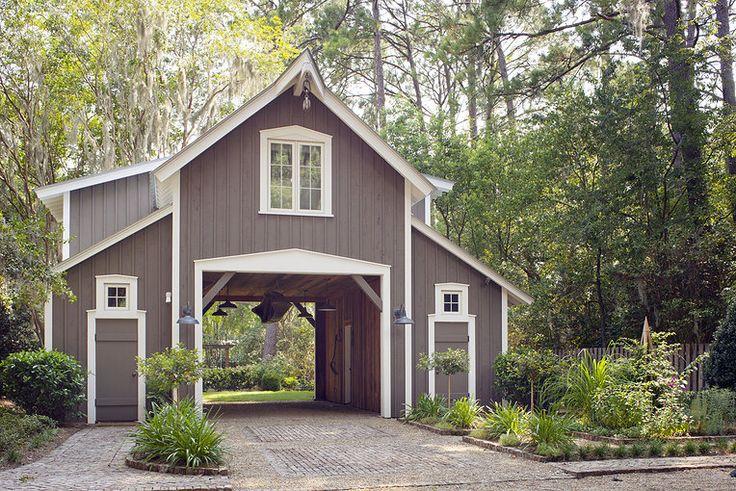Drive Through Barn Barns Pinterest Stables