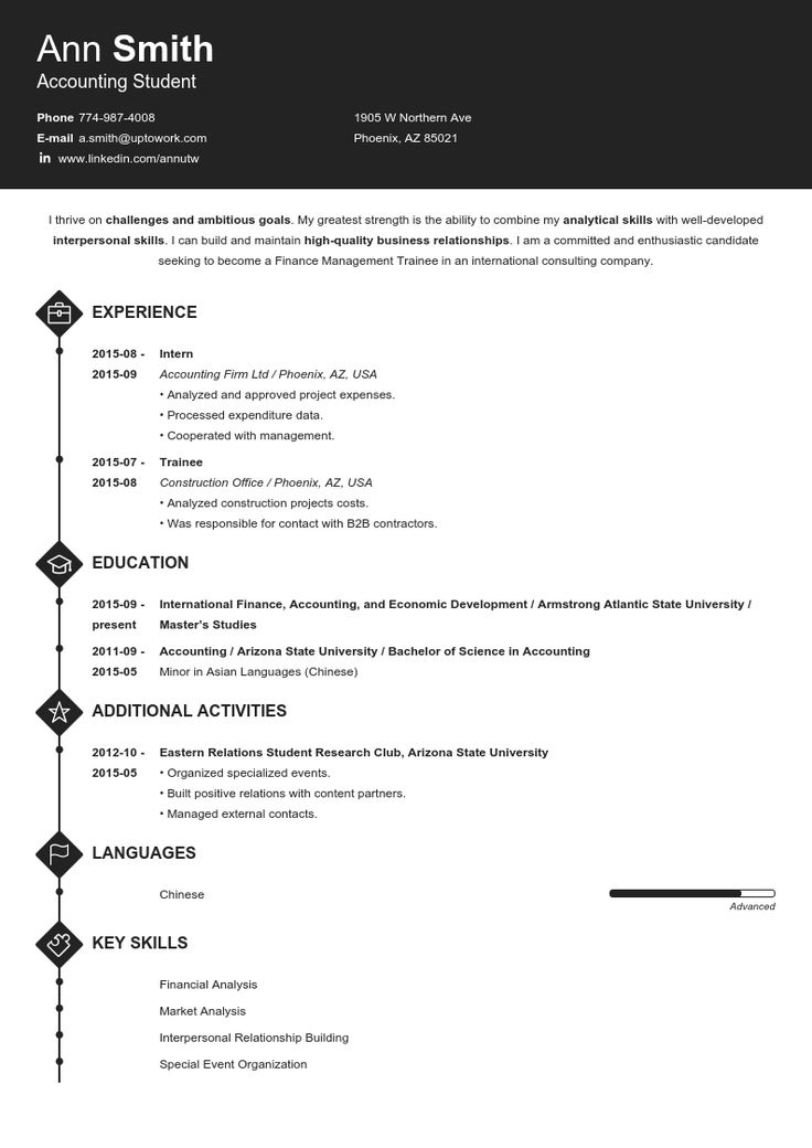 20 professional resume templates create your resume in 5 min - Professional Resume Maker