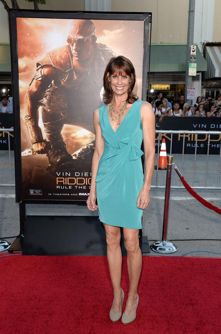 Alexandra Paul arrives at the premiere of Universal Pictures' 'Riddick' at Mann Village Theatre on August 28, 2013 in Westwood, California.