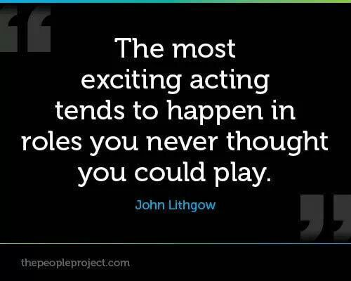 Quotes About Acting And Theater. QuotesGram