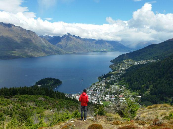 Queenstown Hill Time Walk, Nieuw-Zeeland #newzealand #roadtrip #lakewakatipu