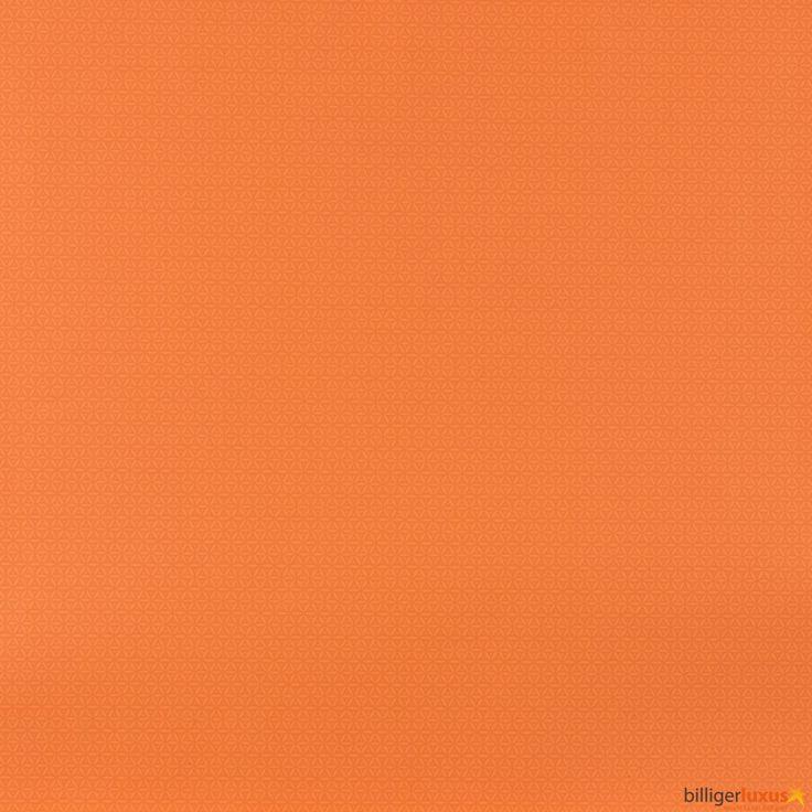 Nonwoven wallpaper Lars Contzen wallpaper plain orange