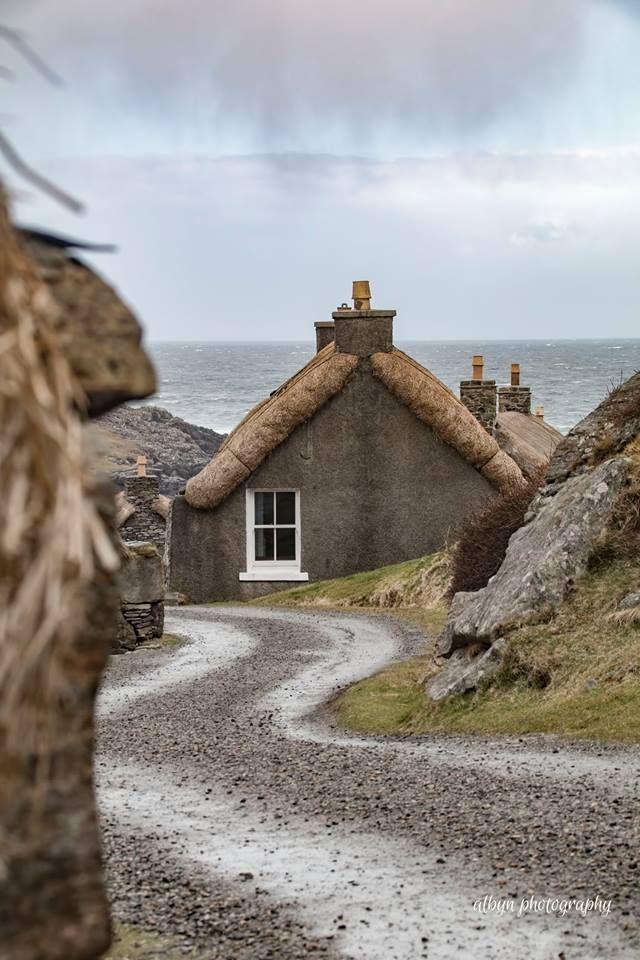 Gearrannan Blackhouse Village - Isle of Lewis, Scotland