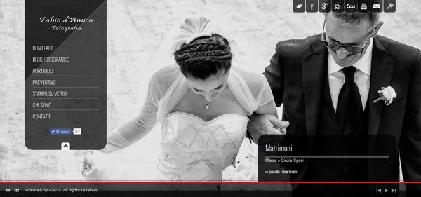 Fabio d'Amico - Fotografia - Fotografo di Matrimonio by Elio Tornincasa, via Behance