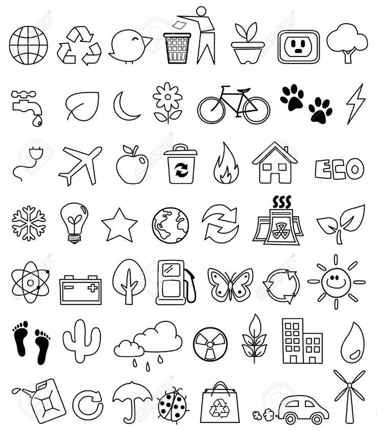 planner icons doodles - Google Search