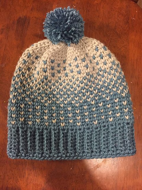 87598057ea421d Ravelry: stephanieln's Snow day beanie | crochet hats | Crochet hats ...