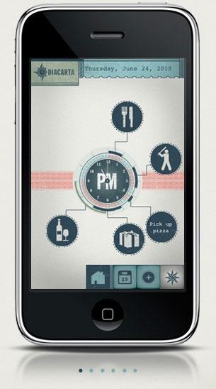 Diacarta - outstanding iphone app design!