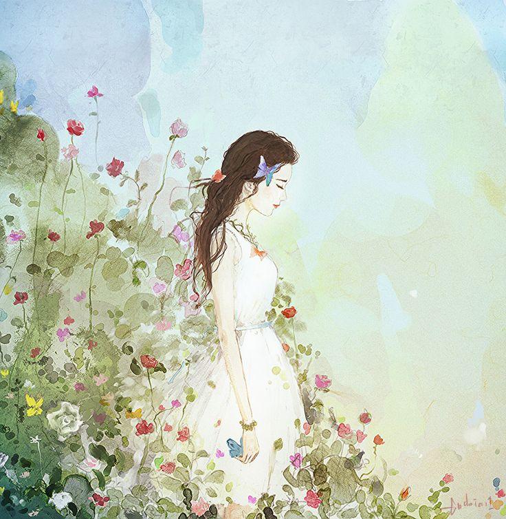 당신은 꽃이랍니다 이름 없는 향기에 나 눈을 감던 당신은 꽃이랍니다 마른날엔 나비들이 찾아와 말없이 머물던 당신은 꽃이랍니다 긴 겨울이 계속되던 메마른 시절에 당신은 한 송이 예쁜 꽃이랍니다 눈뜨면 그리고 눈감으면 꿈꾸는 내 삶의 유일한 분홍색 그대는 나의 꽃이랍니다