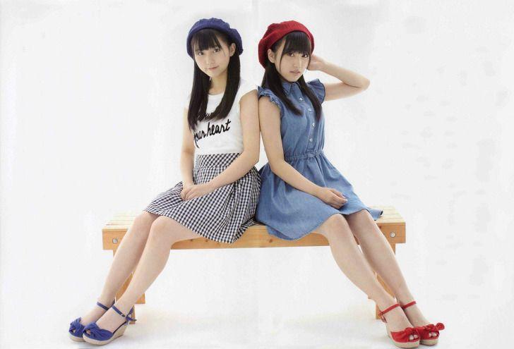 HKT48 Nako Yabuki and Miku Tanaka on Nikkei Entame Magazine - JIPX(Japan Idol Paradise X)