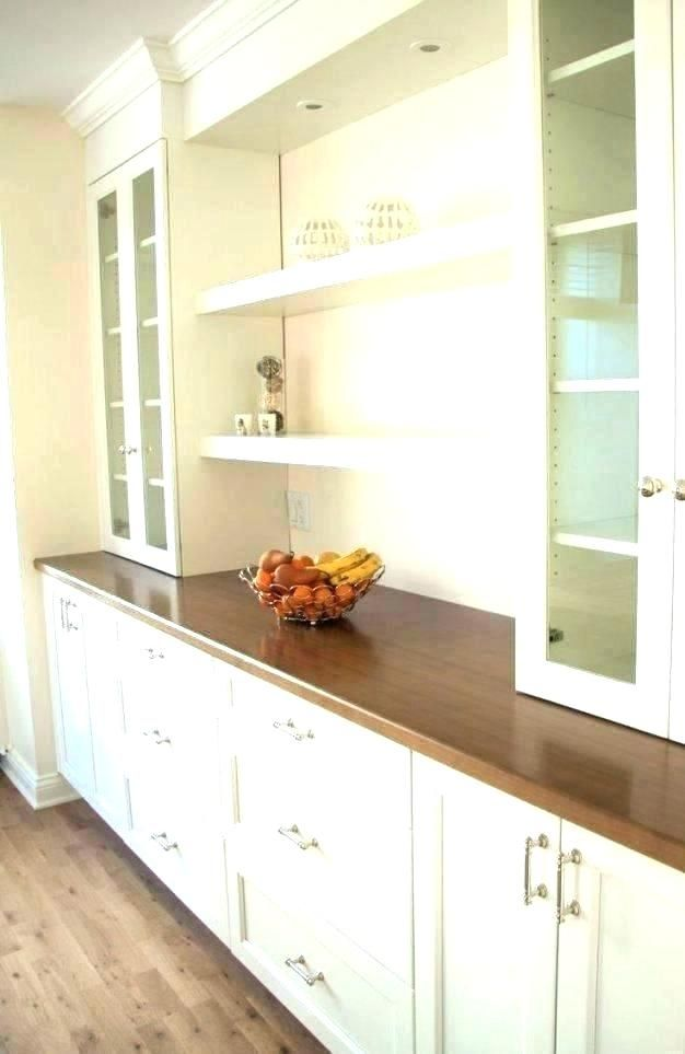 modern built in dining room cabinets double cabinet ...